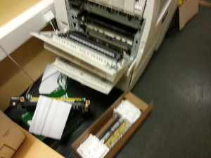 How to fix Xerox Workcenter 7232 Fuser Problems!